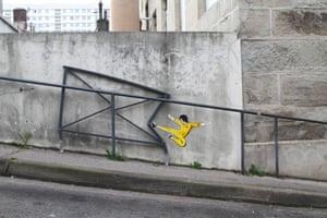 The street art of Oak Oak