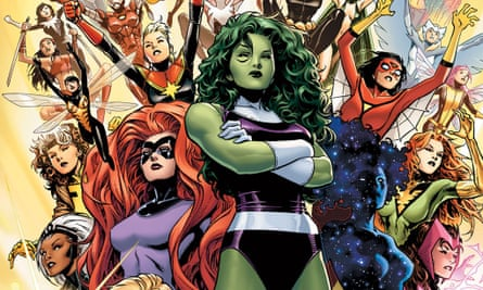 The new all-female Avengers A-Force.