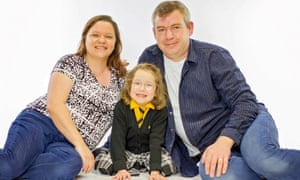 Gayle and Alan Paris borrowed an extra £80,000, then spread their mortgage over 30 years, to move to a village with a suitable school for their daughter Abby.
