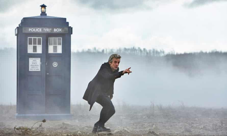 Tardissing the dirt…The Doctor (Peter Capaldi) in The Magician's Apprentice.