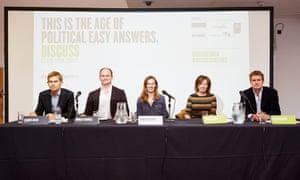 Guardian Live/Manchester Discuss panel, Manchester, 17 September 015