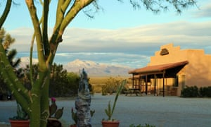Stagecoach Trails Guest Ranch in the dramatic Arizona desert.