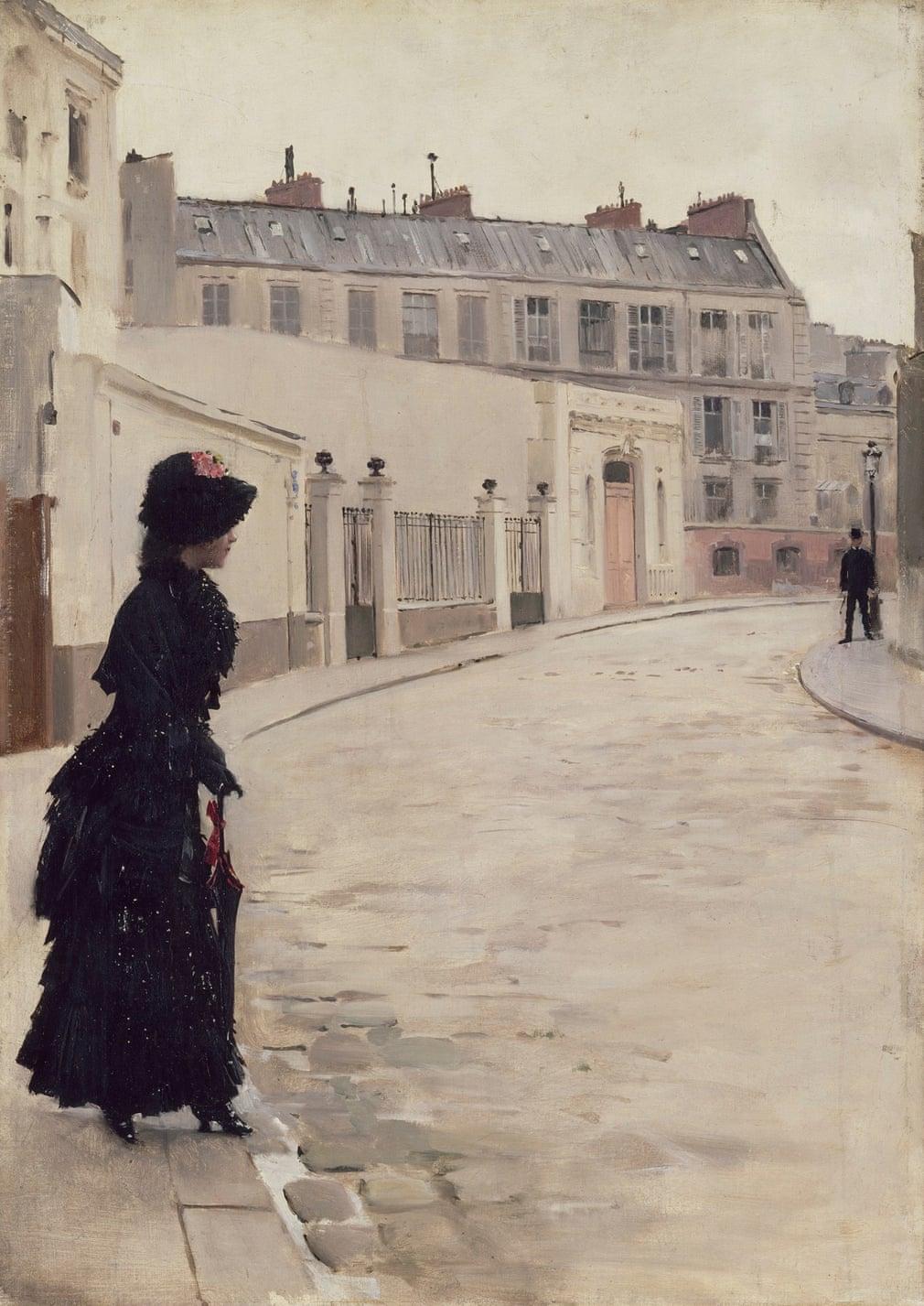 Jean Béraud: L'Attente, 1880