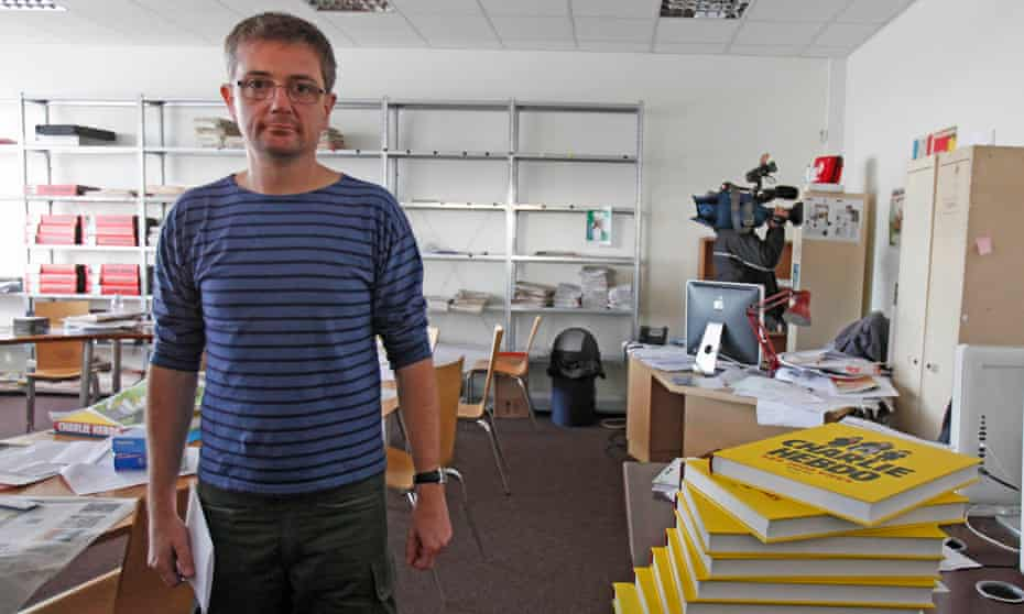 Stéphane Charbonnier, AKA Charb, who was the publishing director of Charlie Hebdo when he was killed in the 7 January attacks.