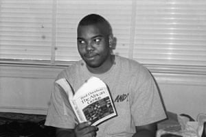 Coates during his time as a student at Howard University in Washington DC.