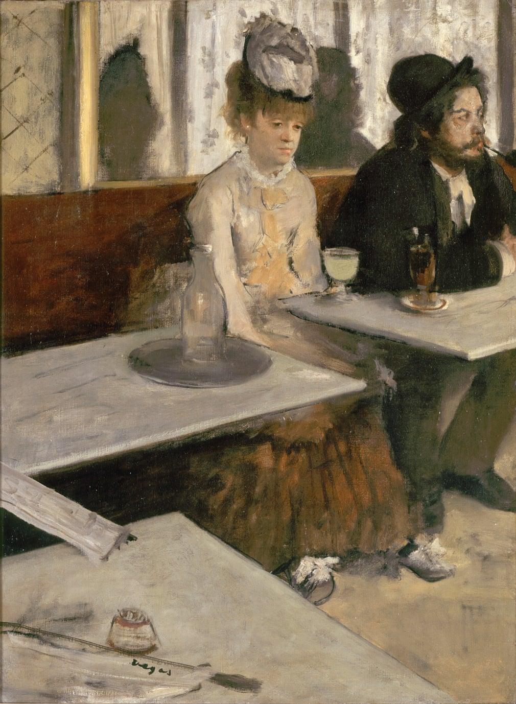 Edgar Degas : L'Absinthe, 1875-76