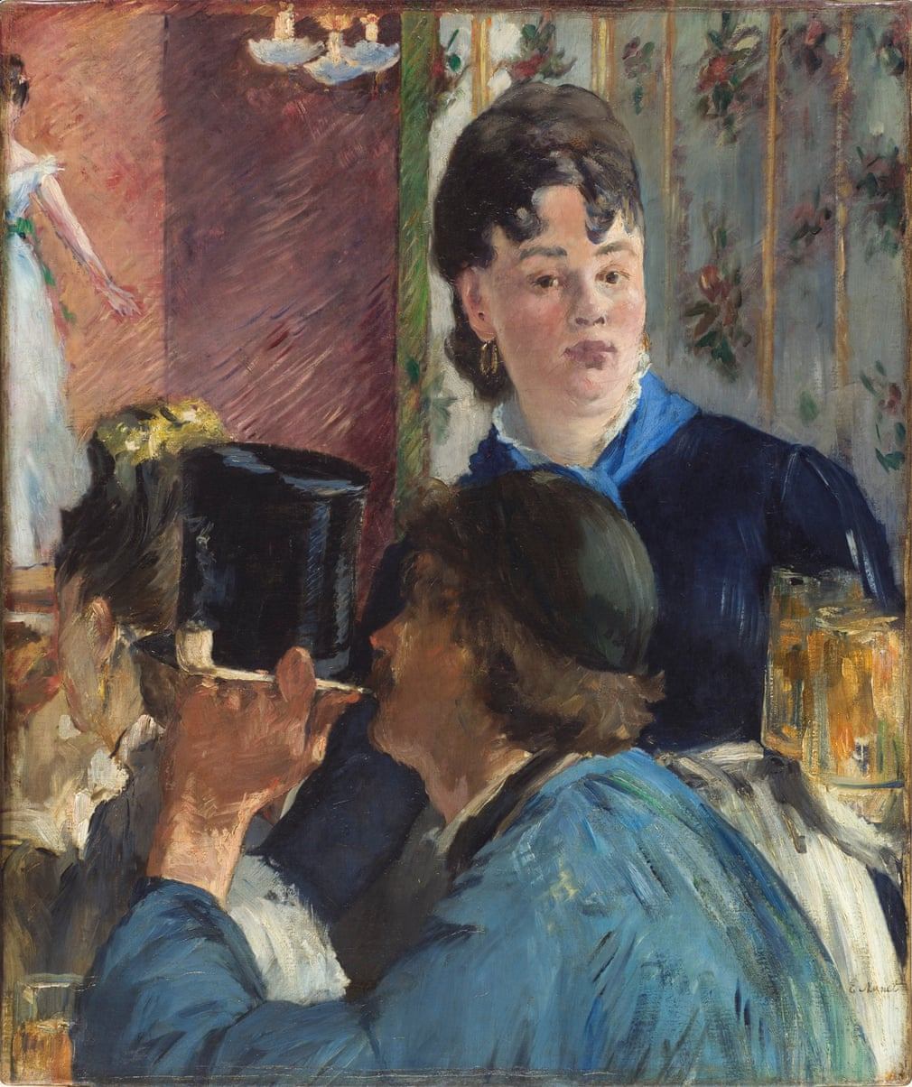 Edouard Manet: La Serveuse de bocks, 1878-1879