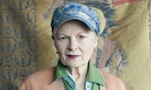 Vivienne Westwood in her London studio