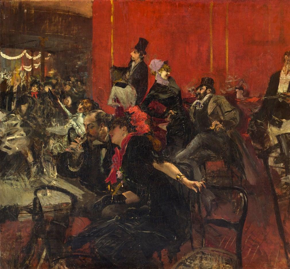 Scène de fête au Moulin Rouge, vers 1889  Giovanni Boldini (1842-1931)  Paris, Musée d'Orsay