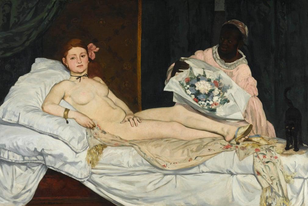 Edouard Manet: Olympia, 1863