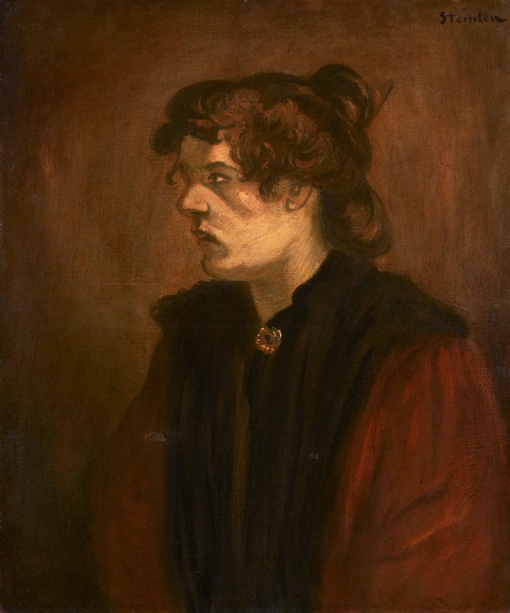 Théophile Alexandre Steinlen: La Pierreuse, 1905