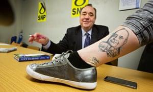 Alex Salmond Tattoo