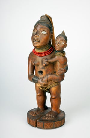 Power Figure: Standing Female with Child
