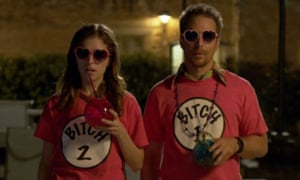 Out for the count ... Anna Kendrick and Sam Rockwell in Mr Right