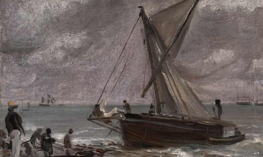 Beaching a Boat, Brighton