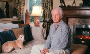 Brian Sewell at his house in London, 2005