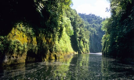 The Whanganui River in New Zealand