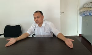 Yu Wensheng, a Chinese human rights lawyer who has spoken out against Wang Yu's detention.