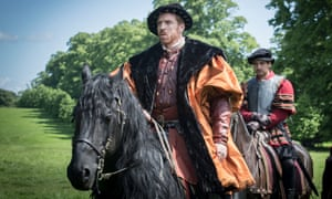 Damian Lewis as Henry VIII in the BBC dramatisation of Hilary Mantel's Wolf Hall.
