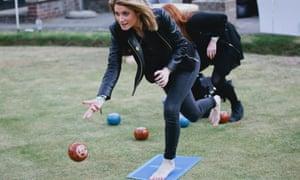 A Barefoot Bowls event