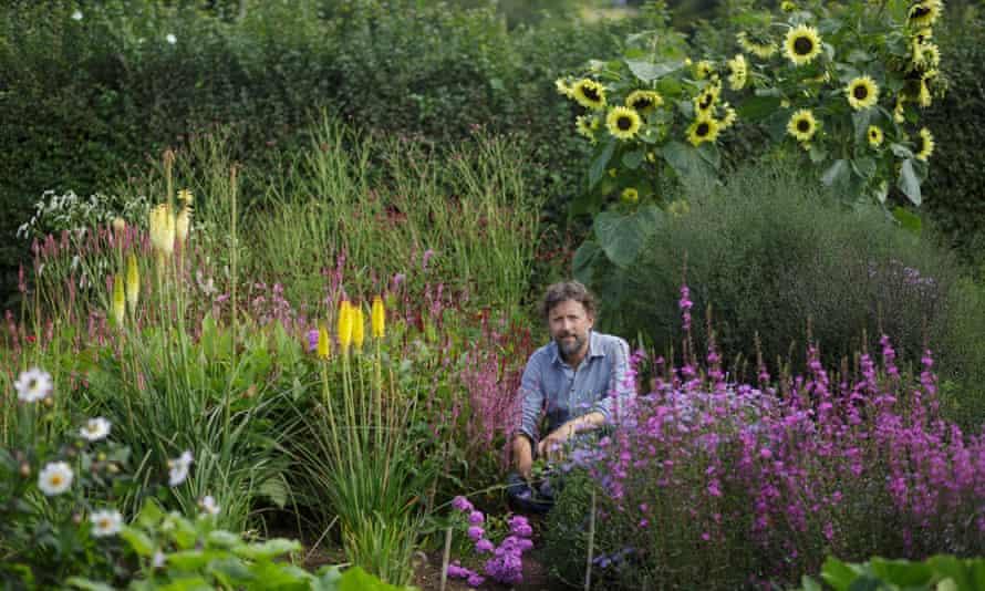Colour vision: in the flower garden.