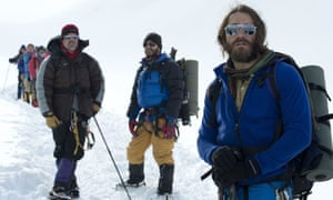 'A frustrating movie in many ways' ... the action adventure Everest, which opened the 2015 Venice film festival.