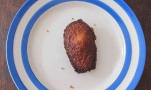 Michel Roux's vanilla madeleine.
