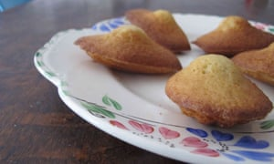Perfect madeleines.