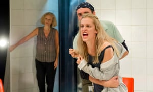 Barbara Maten, Alistair Cope and Denise Gough in People, Places and Things.