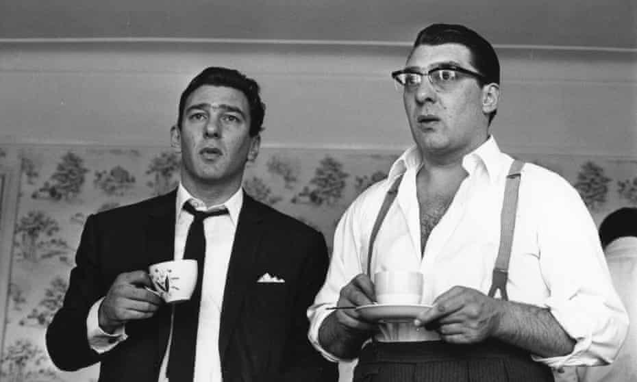 Ronnie and Reggie Kray in 1966.