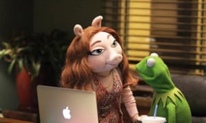 Kermit with his new squeeze, Denise.