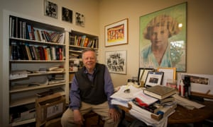 'Good critics sleep on both sides of the bed' … John Lahr in his home in north London.