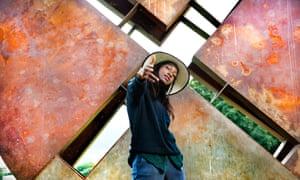 Girl, hood: Little Simz photographed by Gainsborough Studios, London N1.