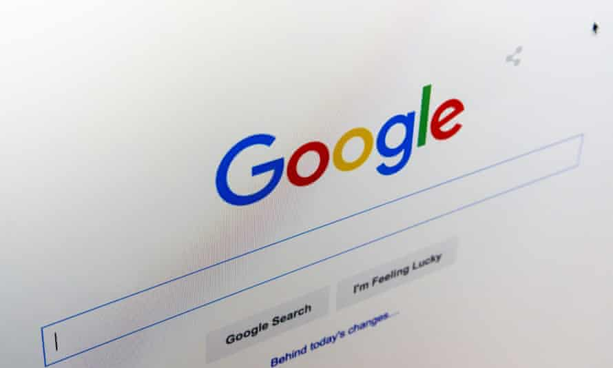 The homepage website and new logo of Google, revealed on Tuesday.
