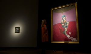 Portrait of George Dyer Talking … The piece is expected to attract bids in the region of £30m when it is presented as part of the Christie's Post-War and Contemporary Art auction.