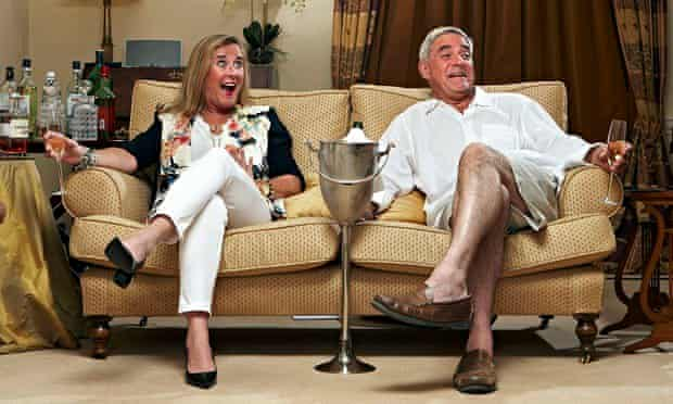 Steph and Dom on Gogglebox.