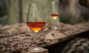 Orange wine from Aleks Kilnec.