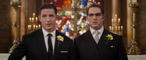 Tom Hardy plays both Reggie and Ronnie Kray in Legend