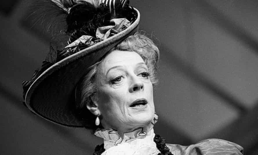 Maggie Smith as Lady Bracknell in The Importance Of Being Earnest.