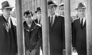 Crime pays: Robert Blake (second left) in Richard Brooks's In Cold Blood.