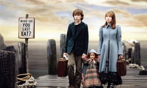 Browning with Liam Aiken in Lemony Snicket's A Series of Unfortunate Events.