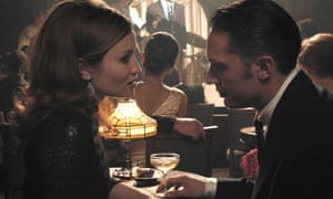 Browning with Tom Hardy as Reggie Kray in Legend.