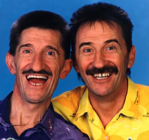 Chucklevision: (l-r) Barry and Paul Chuckle.