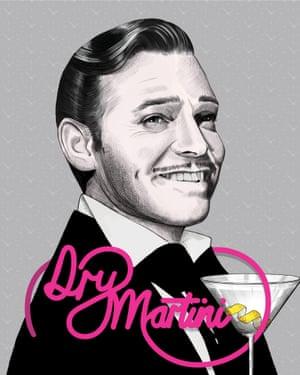 Dry Martini: Clark Gable