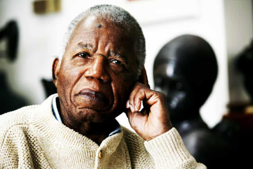 Chinua Achebe, the Nigerian novelist and poet