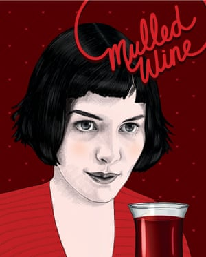 Mulled wine: Audrey Tautou