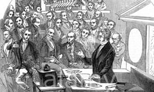 Michael Faraday at the Royal Institution