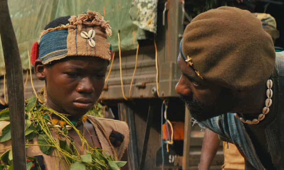 Abraham Attah and Idris Elba