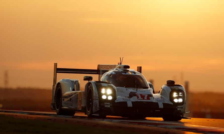 Mark Webber's Porsche