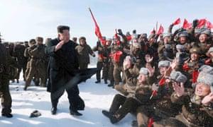 Kim Jong-un mountain